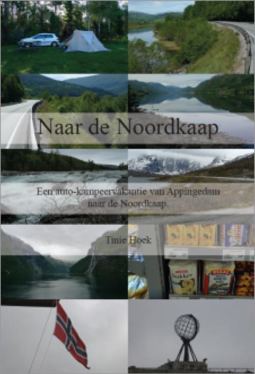 Naar de Noordkaap - Tinie Hoek - Reisverslag- Boekcover voorkant